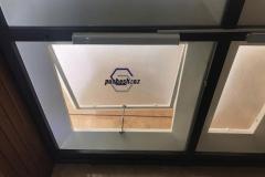 نورگیر حبابی-سقف حیاط خلوت