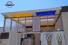 نورگیر سقفی-نورگیر حبابی