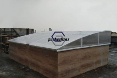 نورگیر سقفی- ورق پلی کربنات