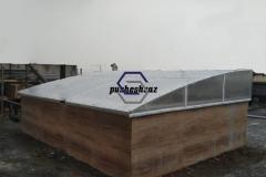 ورق پلی کربنات - نورگیر سقف
