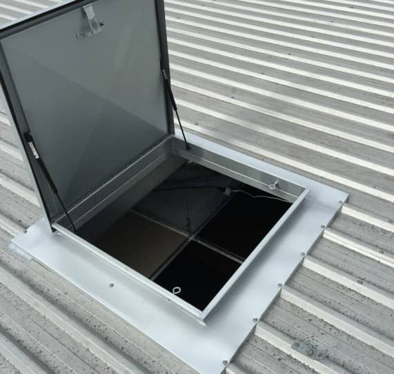 نورگیر-انواع نورگیر سقفی