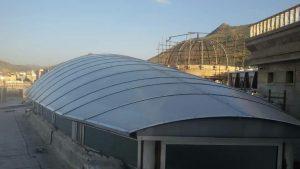 نورگیر سقفی-پروژه های اجرایی