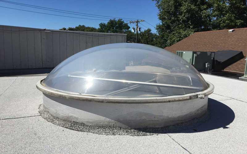 نورگیر سقفی-نکات مهم در تعویض حباب در نورگیر حبابی