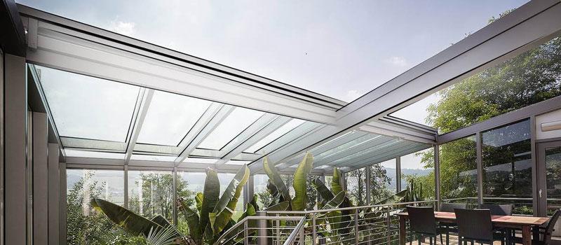 سقف حیاط خلوت برقی