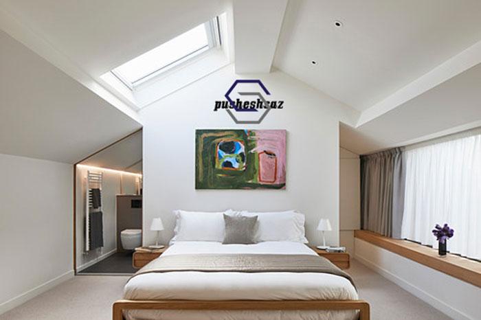 نورگیر سقفی اتاق خواب