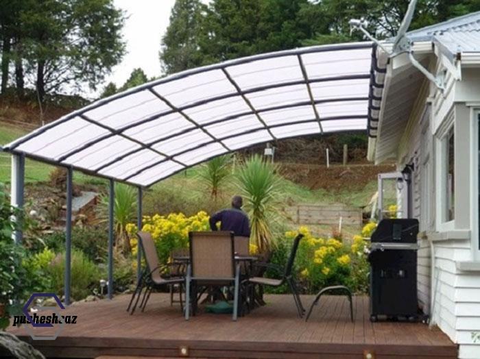 سقف طلقی برای حیاط