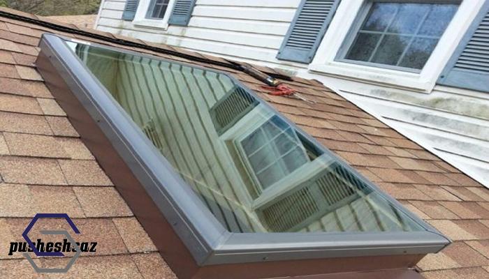 دریچه نورگیر سقفی پوشش ساز